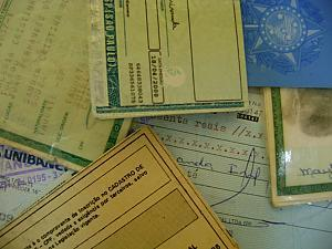Perda ou roubo de documentos.